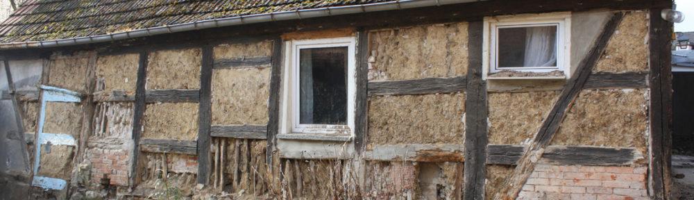 Hofseite des Wohnhauses